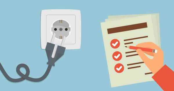 《用電安全檢查表》簡單勾選看結果,為家庭安全把關