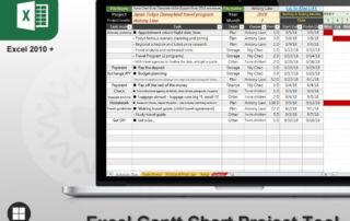 Best Excel Gantt Chart Template tool download