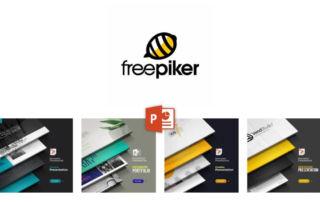 《freepiker》200多套優質商務PPT範本免費下載