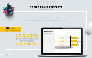 KOTIO-充滿設計感與創意的PPT簡報範本免費下載
