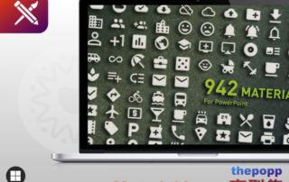Material icons - 免費PPT圖示字型集