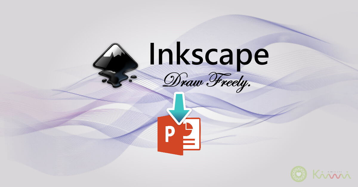 Inkscape export